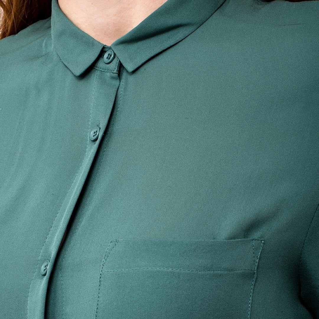 Prisión Devorar Virgen  camisa seda verde american vintage | www.costumebcn.com